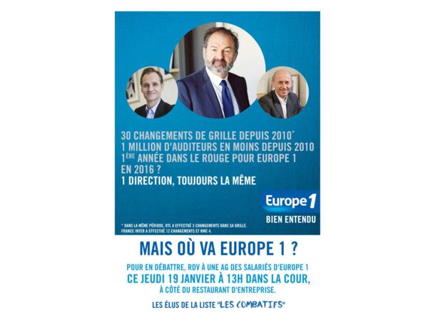 Motion de soutien aux journalistes d'Europe 1
