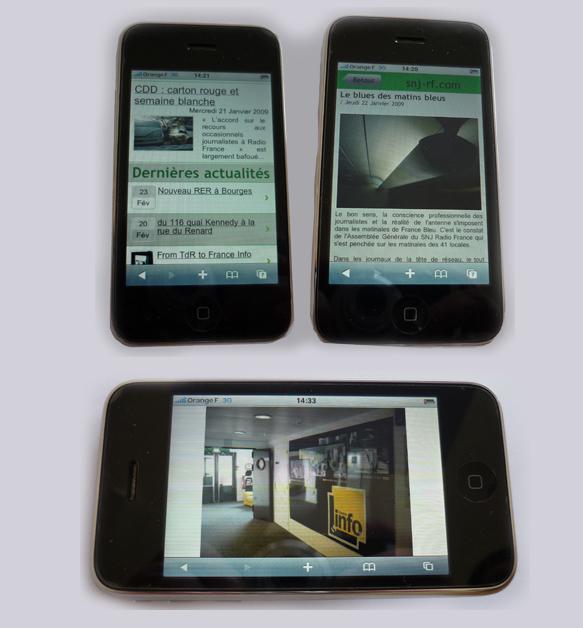 snj-rf.com sur votre iPhone