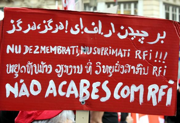 La manifestation du 7 avril