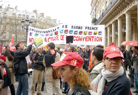 La manifestation du 7 avril