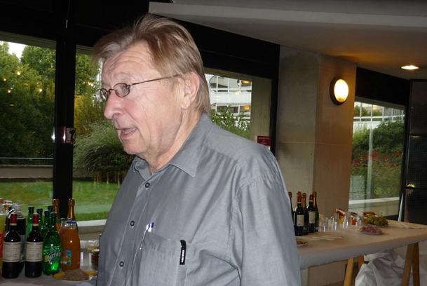 Jiiri Slavicek, le jour de son départ à la retraite, il y a 3 ans