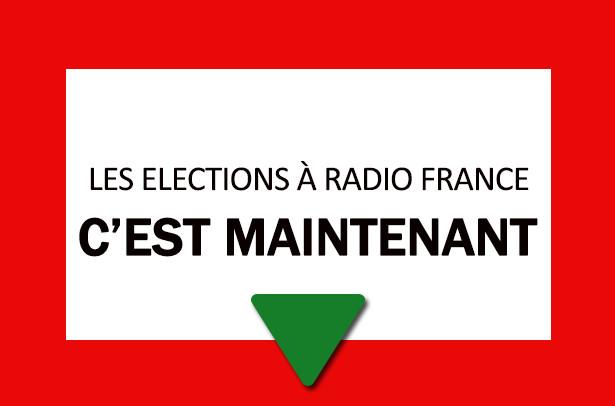 Les élections ont débuté à Radio France