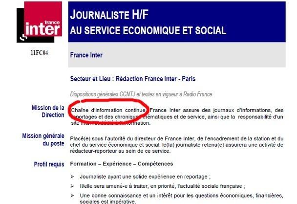 France Inter en mutation ?