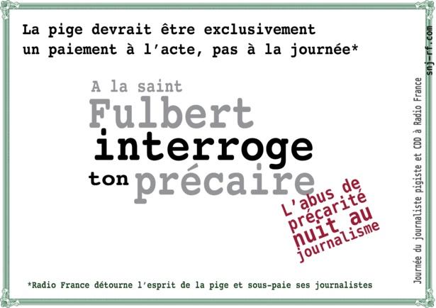 """Le 10 avril, à la Saint Fulbert, journée des """"précaires"""", cassons les tabous, parlons de la précarité"""