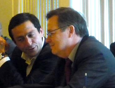 Martin Ajdari et Patrice Papet
