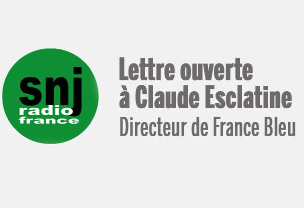 Lettre ouverte à Claude Esclatine