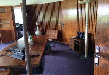 le bureau du PDG tel que Jean-Luc Hees l'avait laissé © SNJ