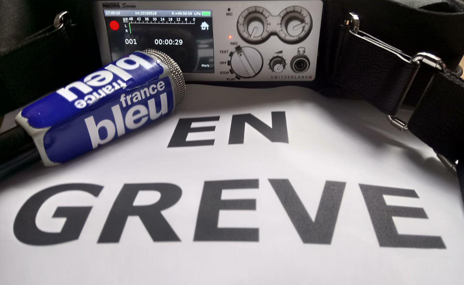Ce mercredi 29 mai, plus de deux journalistes de France Bleu sur trois* ont cessé le travail