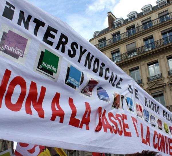 Communiqué de l'intersyndicale Radio France et RFI
