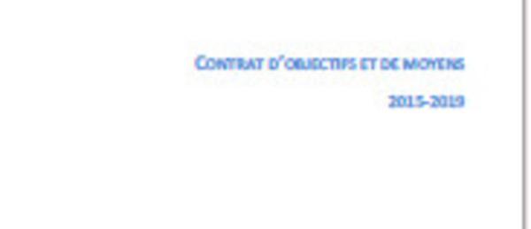 Le COM, contrat d'objectifs et de moyens 2015-2019 de Radio France
