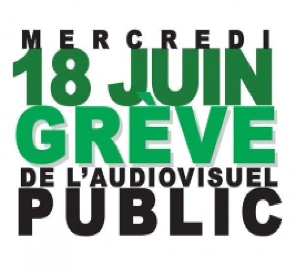 Audiovisuel public : appel du 18 juin